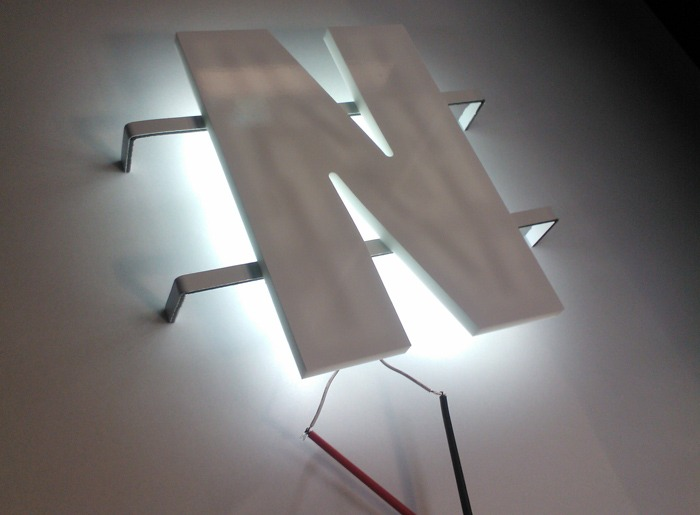 SignWise Producten : 3D Letters Verlicht